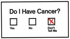 Can #Cancer Ever Be Ignored?