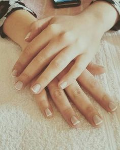 Francesitas /  french manicure