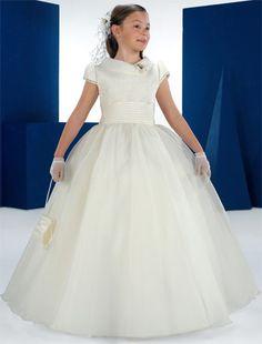 vestidos de comunion para niñas carmy 2012 1 novias - Trajes de primera comunion