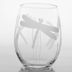 Amazon.com: Dragonfly Red Wine Tumbler (Set of 4): Home & Kitchen