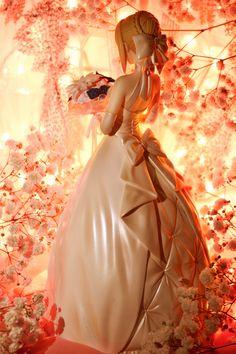 by Bloempje (saber type_moon fate/stay_night hiroshi_(sakurazensen) aniplex ufotable stronger) Rp Games, Arturia Pendragon, Anime Figures, Action Figures, Games Images, Type Moon, Figure Model, Fate Stay Night, Ball Jointed Dolls