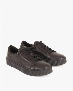 PÓŁBUTY  SPORTOWE 005 -11171-CZARN Puma Platform, Platform Sneakers, Shoes, Fashion, Moda, Zapatos, Shoes Outlet, Fashion Styles, Shoe