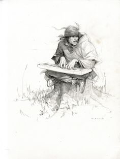 Wesley Burt art