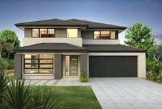 Clarendon Home Designs: Sherwood 35 Vista Facade. Visit www.localbuilders.com.au/builders_victoria.htm to find your ideal home design in Victoria