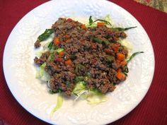 """Indian Beef with Mint """"Kheema Matar"""""""