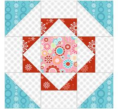 Buddy block and digital copy is in 100 blocks vol. 1 on quilt and sew
