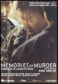 Memories of Murder (Crónica de un asesino en serie) (2003) Corea do Sur. Dir.: Bong Joon-ho. Thriller. Baseado en feitos reais – DVD CINE 1652-I