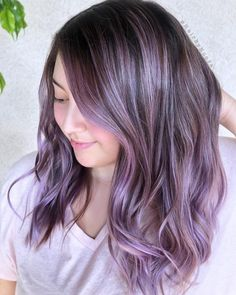 These 19 Dark Purple Hair Color Ideas Are Giving Us Hair Envy Source by purple Hair makeup Purple Brown Hair, Dark Purple Hair Color, Balayage Hair Purple, Purple Hair Highlights, Light Purple Hair, Dyed Hair Purple, Plum Hair, Violet Hair, Hair Color And Cut