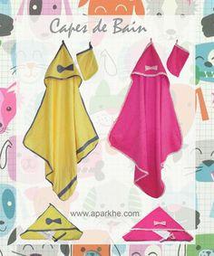 #Naissance #Baby #Doux #Cape de Bain (Grande) #Eponge # C'est une Fille !!! #Cadeau :-) #Utile :-) #Pratique :-)  www.aparkhe.com