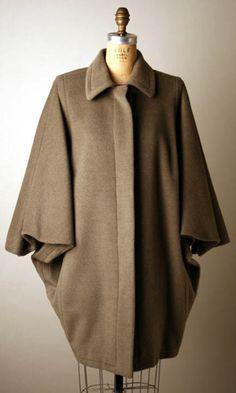 Coat Yves Saint Laurent (French) ca. 1988 cashmere, silk