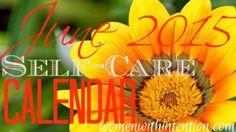 June 2015 Self-Care Calendar