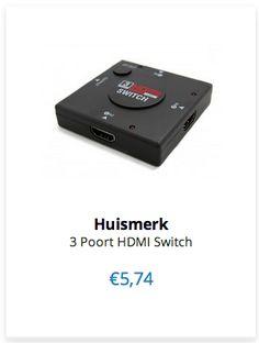 Huismerk 3 Poort HDMI Switch www.ovstore.nl/nl/huismerk-3-poort-hdmi-switch.html