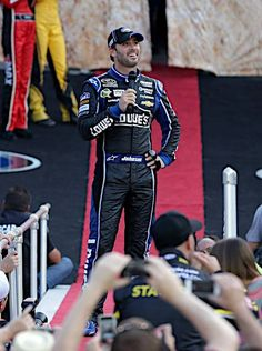 Bristol Night Race August 24. 2013  I loved this shot because he was laughing at the haters who were booing him  #6Pack
