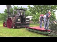 The Oklahoma Steam Threshers Association Pawnee Oklahoma 110 HP Case Plowing