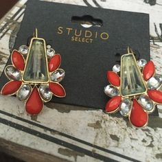 NWT! Fashion earrings NWT! Beautiful, lightweight fashion earrings!! Studio Select Jewelry Earrings