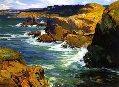 The Athenaeum - Point Lobos (Franz Bischoff - No dates listed)