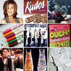 Memories of growing up in the 90's!