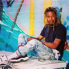 """Fetty Wap explains why the """"Space Jam"""" Air Jordan XIs are his favorite thing in his closet despite not even being able to wear them."""