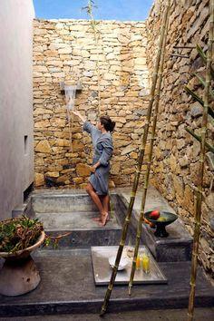 la regadera Outdoor Shower
