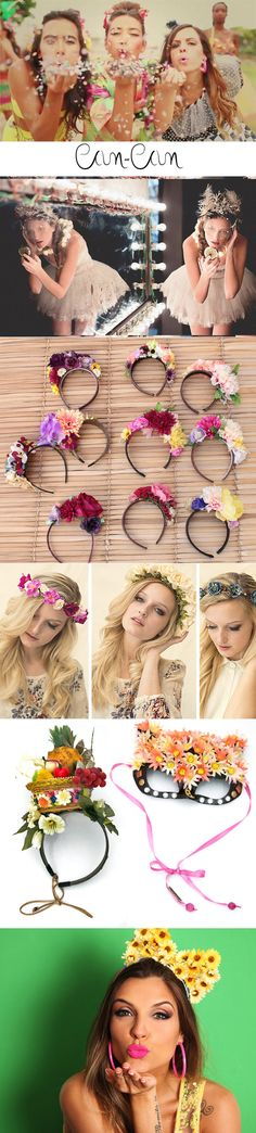 Discover thousands of images about Photo Op for Teen Party.or any girlie party. Diy Tumblr, Moana Party, Quinceanera Hairstyles, Diy Hair Bows, Ribbon Hair, Barrettes, Hawaiian Luau, Theme Noel, Mexican Party