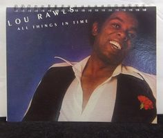 Recycled Journal From Lou Rawls Record Album by AWRecycledJournals, $10.00