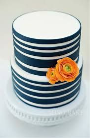 navy and white baby shower cakes - Google Search