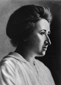 Rosa Luxemburg  1871-1919  The Polish born German revolutionary and agitator Rosa Luxemburg, also called Bloody Rosa, played a key role in the founding of the Polish Social Democratic Party and the Spartacus League, which grew into the Communist Party of Germany.  As a political theoretician Luxemburg developed a humanitarian theory of Marxism, stressing democracy and revolutionary mass action to achieve international socialism.