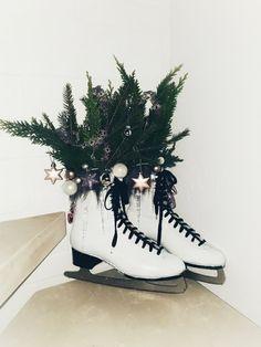 Weihnachtszeit beleuchtete boote
