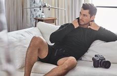 David Gandy and his abs are back at Marks & Spencer