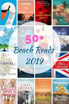 Need a book for Memorial Day Weekend? This EXTENSIVE list of books are all perfect for the beach! From fiction to thrillers, YA to romance, and everything in between, this 2019 Ultimate Beach Reads list has over 50 books to enjoy this summer.
