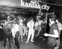 Max's Kansas City, a magnet for the weird and beautiful.
