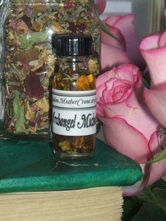 Archangel Michael Oil-Protection-Removes Obstacles-Courage-Strength-Motivation- Relationships-Love-Career Ambitions-Job-accomplishments-Hope By MaidenMotherCrone.etsy.com