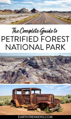 Petrified Forest National Park travel guide and itinerary. #petrifiedforest #nationalpark #hiking #arizona