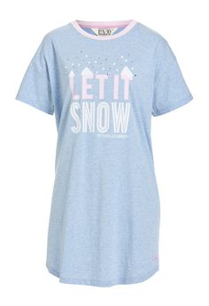 Image for Let It Snow Short Sleeve Sleep Tee from Peter Alexander