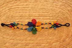 Beautiful Mexican Huichol Art Beaded Adjustable Bracelet- This unique piece was hand made in Mexico. Dimensions: 7 Long X Wide Color:Multicolor Beard Jewelry, Bangles, Beaded Bracelets, Native Beadwork, How To Make Paint, Adjustable Bracelet, Bead Art, Seed Beads, Iris