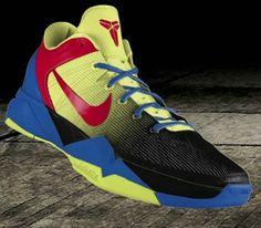 141785a0dd0 Nike Zoom Kobe VII Fade Red Black Yellow