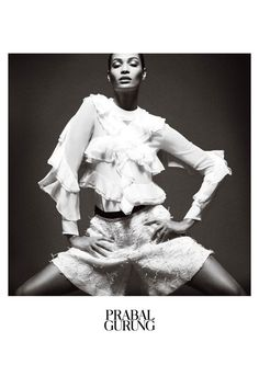Prabal Gurung Enlists Joan Smalls For New Campaign