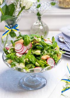 Greens Recipe, Sprouts, Zucchini, Celebration, Lunch, Table Decorations, Vegetables, Food, Eat Lunch