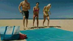 A Beach Blanket That Lets Sand Pass Through It