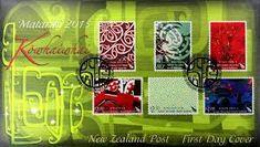 Maori Art, Cow, Graphic Design, Contemporary