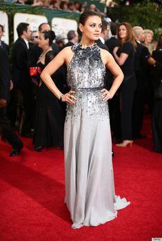 Best Dressed Golden Globes 2014: #11 Mila Kunis in Gucci