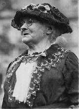 Mother Jones, who suffered hardship and loss, yet fought for the safety of mineworkers.   (May 1 is considered Labor Day around most of the world)