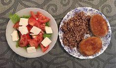 На обед сегодня был овощной салат,греча и две не ппшные котлеты 🙄😂 осилил только 1,5) #пп #пэпэ #правильноепитание #зож #ппдневник #худеемвместе #диета #ппеда  #здороваяеда #полезнаяеда #мотивация #healthyfood #healthy #eatclean #eathealthy #diet #fit #food #foodporn#fatloss #motivation #healthychoices #weightloss #healthylunch #healthydinner #ппобед #fitfam #cleandiet #weightwatchers #обедпп  Yummery - best recipes. Follow Us! #foodporn