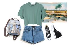 """this summer"" by junk-food ❤ liked on Polyvore featuring Converse and Free People"