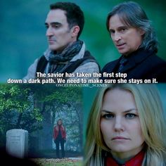 """The savior has taken the first step down a dark path"" - Rumple #OnceUponATime"
