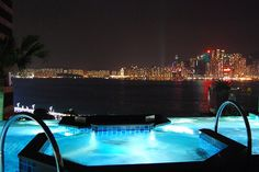 (We stayed at the Intercontinental in Hong Kong for our honeymoon.  It was gorgeous!) We should go!