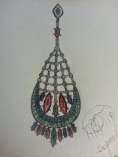MaraNMachado jewelry designer: Inspired by peacock - inspiração no pavão real