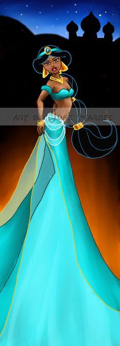 Jasmine by *JunebugHardee on deviantART