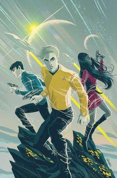 Star Trek: Boldly Go Vol. 1 - Comics by comiXology New Star Trek, Star Trek Beyond, Star Trek Tos, Star Wars, Star Trek Enterprise, Star Trek Voyager, Enterprise Ship, Akira, Wallpaper Star Trek