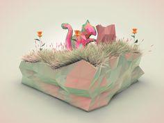 Nature Dreamy by Robinsson Cravents, via Behance